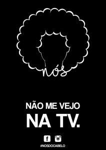 Não me vejo na TV