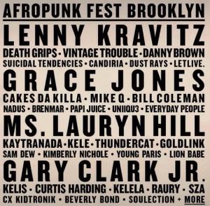 Atrações Afropunk Fest 15