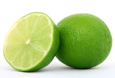 healthy green lime fruit