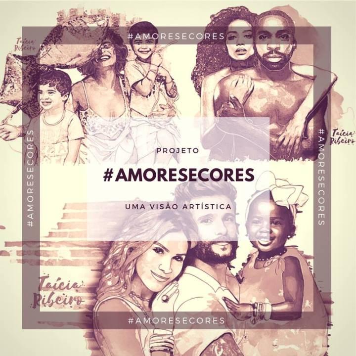 """Conheça o Projeto """"Amores e Cores"""" de ilustradoragaúcha"""