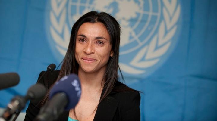 Marta é nova embaixadora da ONUMulheres