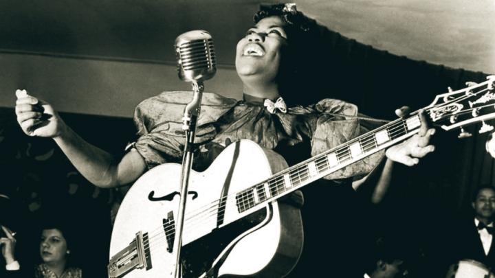 Dia do Rock: Elvis? Não! Uma das cabeças do Rock N'Roll foi uma mulhernegra
